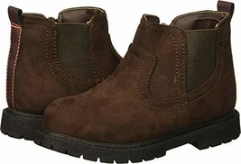 carter's Boys' Cooper3 Chelsea Fashion Boot, Brown, 11 M US Little Kid - $733,55 MXN