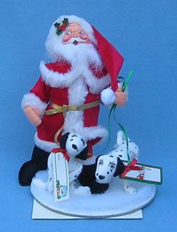 "5 Vintage 5-13""1965 newer Annalee Mobiltee Felt Dolls Bear Mouse Santa Reindeer+"