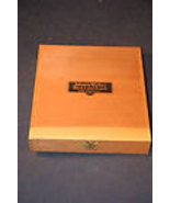 Dovetailed Wood Cigar Box for Making Purse Adve... - $9.99