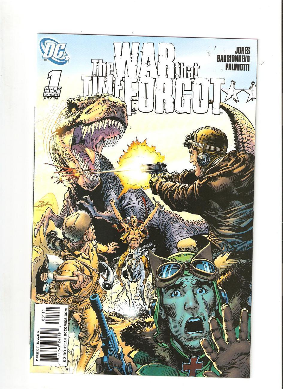 2 Comic lot - War That Time Forgot # 1 & 2 (2008)