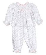 Laura Dare Baby Girls Cotton Rosebud 2-piece Pajama Set - $22.00