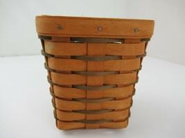 "Longaberger 6"" Spoon Basket 1990 - $15.83"