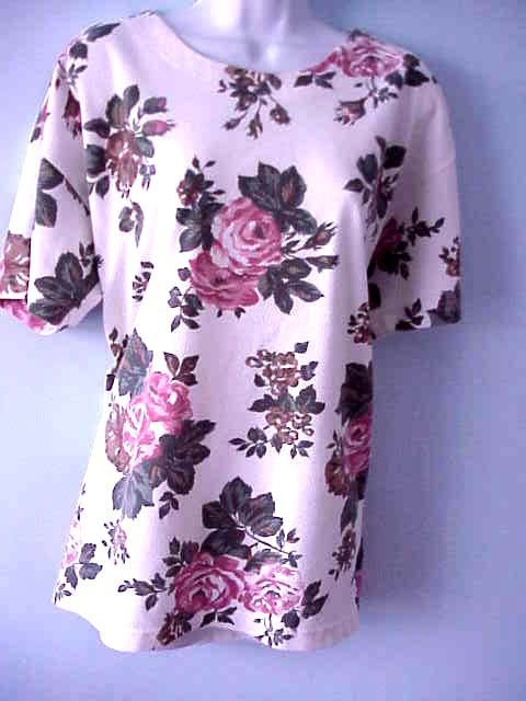 Top with roses long