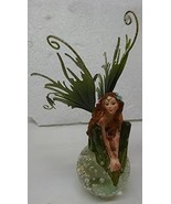 Fairy on Crystal Ball Figurine (green) - $27.23