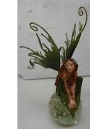 Fairy on Crystal Ball Figurine (green) - £19.60 GBP
