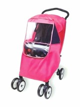 Hippo Collection Universal Stroller Weather Shield - pink one size - $28.21