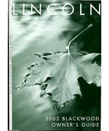 Lincoln Blackwood 2002 Owners Manual, Lincoln Owners Manual, Lincoln Car... - $49.99