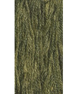 Moss (0194) 6 strand hand-dyed cotton floss Gen... - $2.15
