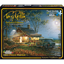 Terry Redlin - Autumn Traditions - 1000 Piece Jigsaw Puzzle  - $39.99