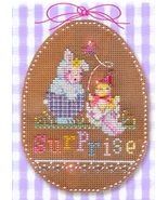 Easter Surprise Stitch A Chocolate Egg Ornament Chart only Brooke's Books  - $7.20