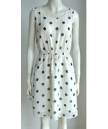 NEW J CREW Scatter Polka Dot silk sleeveless Dr... - $100.00