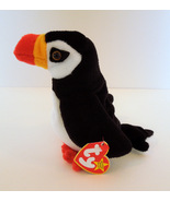 TY BEANIE BABIES PUFFER THE PUFFIN 1997 RETIRED MINT WITH TAGS PVC PELLETS - $2.25