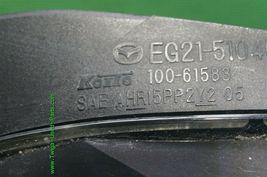 07-09 Mazda CX-7 CX7 Halogen Headlight Driver Left Side LH - POLISHED image 6