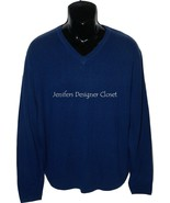NWT BOBBY JONES Golf $395 L blue 100% Cashmere ... - $158.39