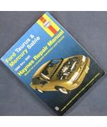 Haynes Repair Manuals Ford Taurus and Mercury Sable, 1986 Thru 1995 #30674 - $4.79