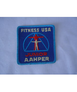 FITNESS USA JUNIOR AAHPER PATCH EMBROIDERED IRON ON - $5.50