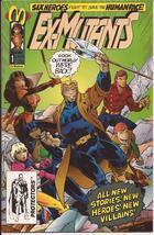 Malibu Comics Ex-Mutants #1 Dillon Piper Bud Tanya Shannon Ackroyd - $2.95