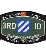 US Army 3rd Infantry Division Military Occupational Specialty MOS Patch - $9.97