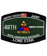 US Army 49th Armored Division Military Occupational Specialty MOS Patch - $9.97