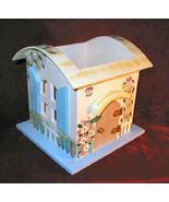 Ganz Spring  Easter Wooden Cottage Candle Jar Holder - $16.50