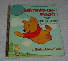 Walt Disney's Winnie The Pooh The Honey Tree D116 Little Golden Book 1971 - $6.00