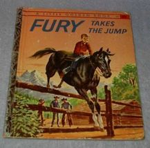 Fury Takes the Jump 336 Vintage 1958 Little Golden Book - $11.95