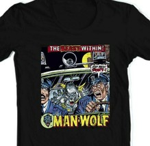 Man-Wolf T Shirt retro 1970s Marvel Comics graphic tee Creatures on the Loose image 2