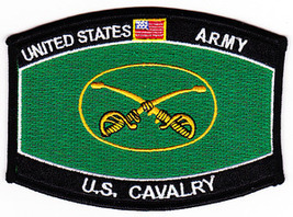 US Army Cavalry Regiment Military Occupational Specialty MOS Patch - $9.97
