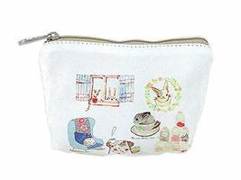 Creative And Happy Rabbit Canvas Cosmetic Bags/Purse