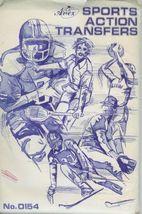 Sports Action Iron on Transfers Artex 0154 Basketball Football Ski Hocke... - $5.92