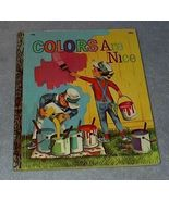 Colors Are Nice #496 Vintage 1971 Little Golden Book  - $5.95