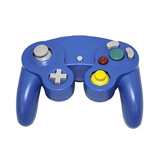 Nintendo GameCube & Wii Replacement Controller Blue By Mars Devices