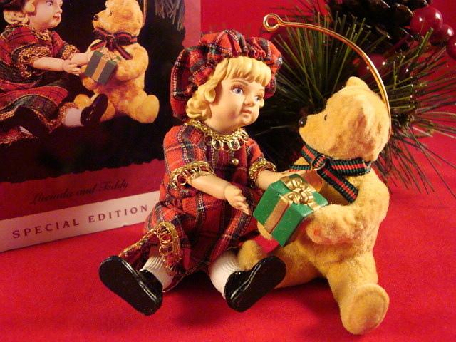 Hallmark 1994 Lucinda and Teddy  New QX 481-3