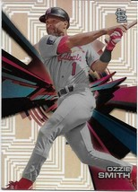 2015 TOPPS HIGH TEK PIPES OZZIE SMITH ST. LOUIS CARDINALS FREE SHIPPING - $1.99