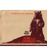 Production Scenes Walt Disney Productions King of the Grizzlies 1970 fil... - $50.00