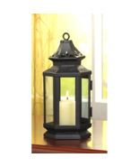 Black Stagcoach Lantern - $16.54