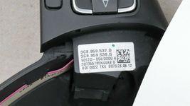09 - 17 Volkswagen CC Eos Golf 3-Spoke Multifunction Steering Wheel Blck Leather image 3