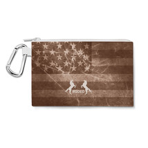 Vintage Rodeo Rustic Canvas Zip Pouch - $15.99+