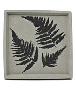 Catch All Tray-Concrete Tray-Jewelry Tray-Fern Home Decor-Decorative Tray-Fern - $27.00