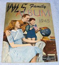 WLS Chicago Radio Prairie Farmer Family Album 1945 Patsy Montana Sage Ri... - $11.95