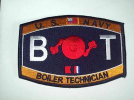 Us Navy Boiler Technician Mos Bt Patch   - $9.97