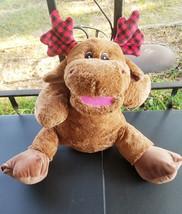 """Converted 24"""" Stuffed Animal """"Reindeer"""" Ventriloquist Puppet *Custom * E14 - $15.00"""