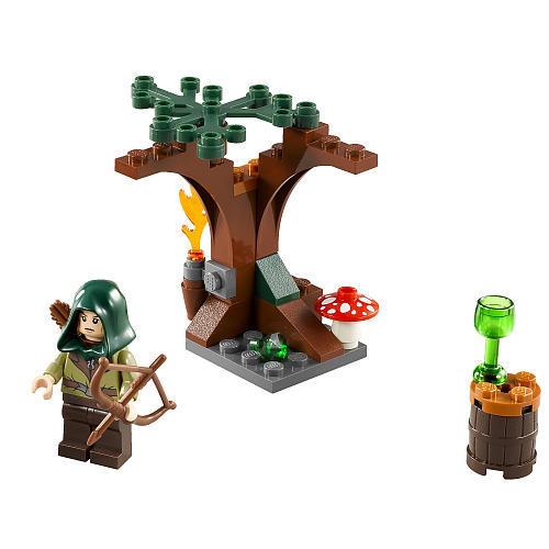 Lego The Hobbit 30212 - Mirkwood Elf Polybag