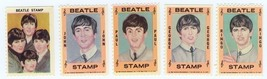 BEATLES Stamps Hallmark 1964 Set of 5 - $9.98