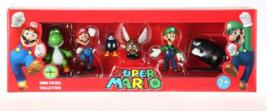"Nintendo Mario 2"" Display Box Figure Pack (Set of 6) Brand NEW! - $49.99"