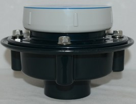 Zurn EZ1 PVC Floor Drain With 5 inch Nickel Bronze Strainer EZ1 PV2 image 2