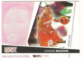 Shawn Marion Topps Luxury Box 05-06 #25 Phoenix Suns Dallas Mavericks - $0.50