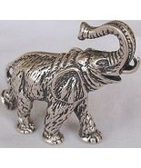 Elephant A silver miniature   - $135.00