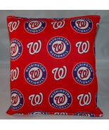 Washington Nationals Pillow Nationals Pillow MLB Handmade in USA Pillow ... - $9.99