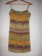 Wild Printed Tribal Aztec Geo print fit & flare Dress S Rampage free People - $9.99